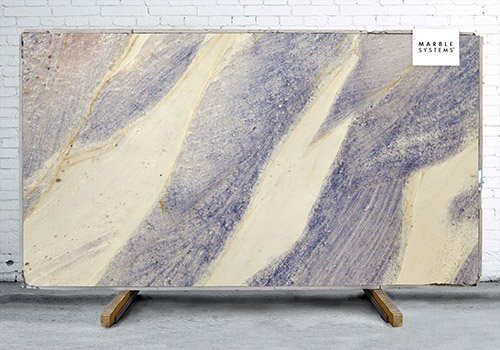 Azul Imperial Polished Granite Slab Random 1 1/4