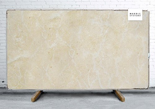 Seashell Honed Limestone Slab Random 3/4