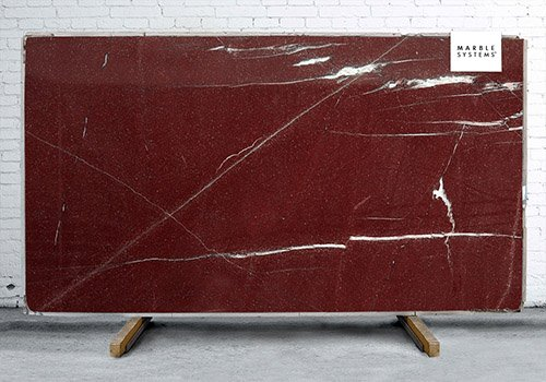 Red Laguna Polished Granite Slab Random 3/4