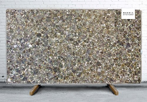 Butterfly Green Polished Granite Slab Random 1 1/4