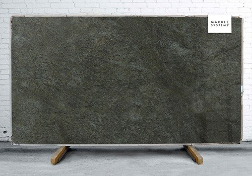 Green Galaxy Polished Granite Slab Random 1 1/4
