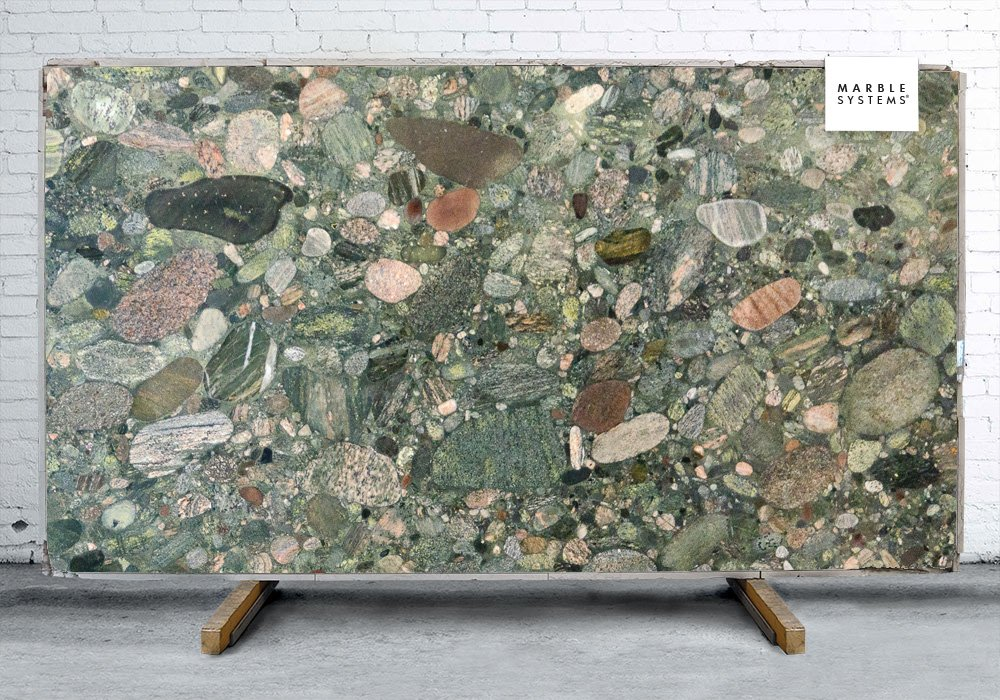 Verde Marinace Polished Granite Slab Random 1 1 4 Marble