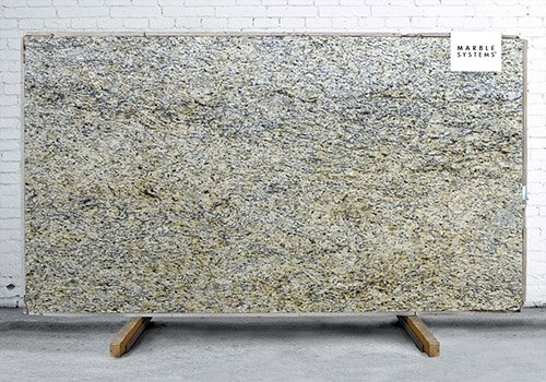 Giallo Ornamental Polished Granite Slab Random 1 1/4