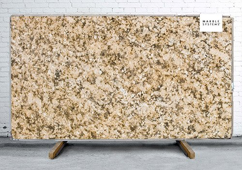 Giallo Napoleone Polished Granite Slab Random 1 1/4