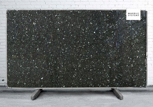 Emerald Pearl Polished Granite Slab Random 1 1/4