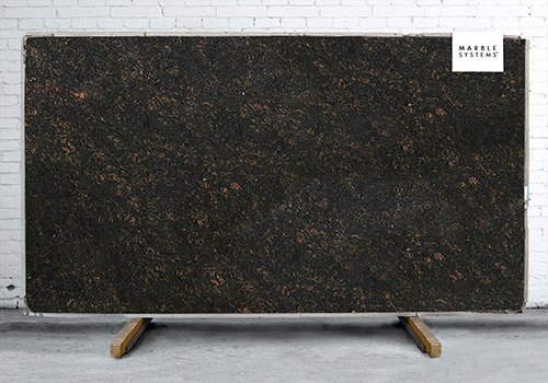 Tan Brown Polished Granite Slab Random 1 1/4