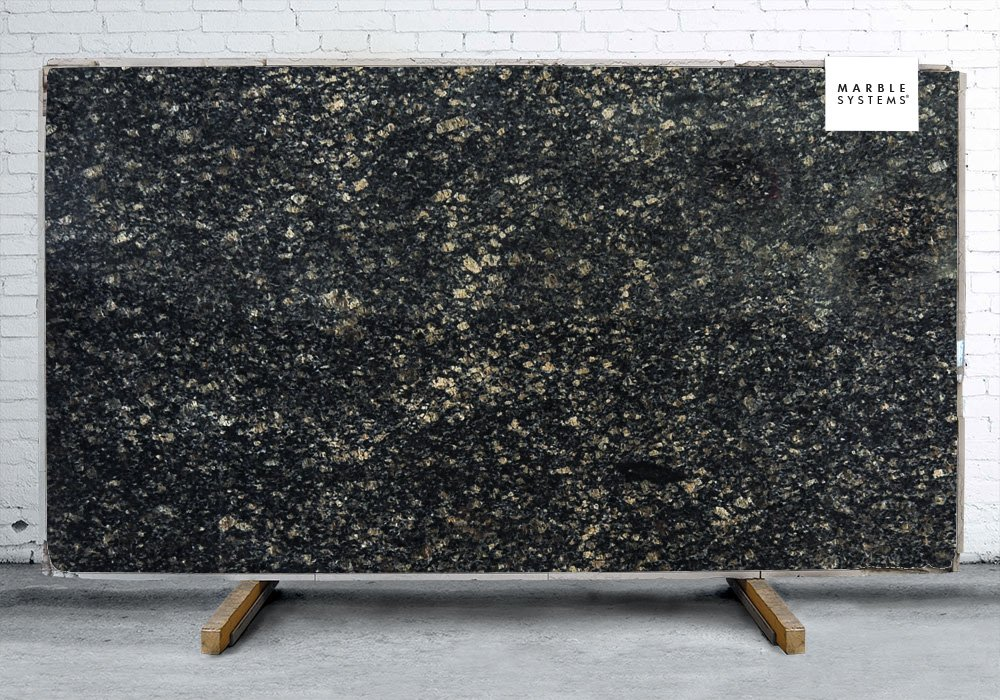 SAPHIRE BLUE POLISHED GRANITE SLAB SL10209