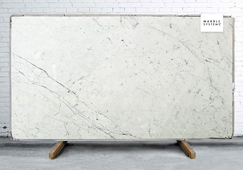 Statuary Polished Marble Slab Random 1 1/4