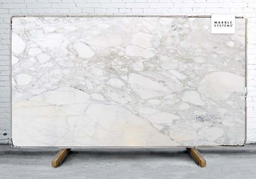 Calacatta Gold Polished Marble Slab Random 3/4