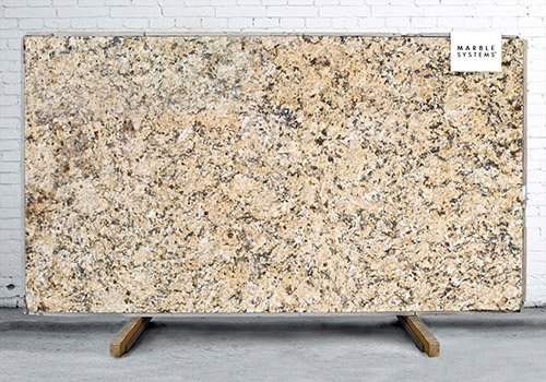 New Venetian Gold Polished Granite Slab Random 1 1/4
