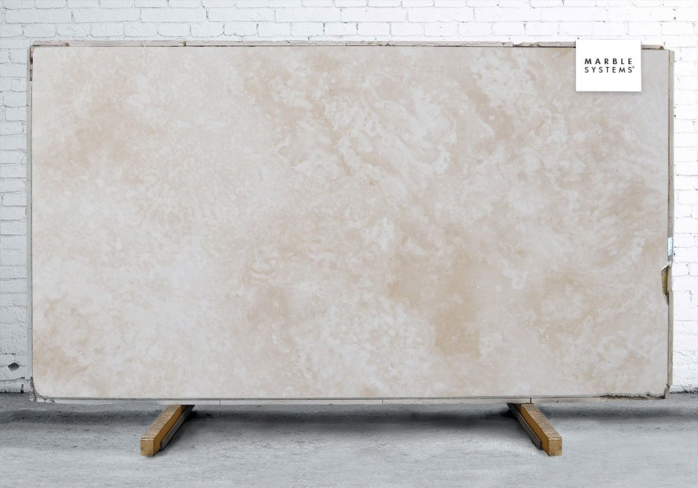 IVORY HONED&FILLED TRAVERTINE SLAB SL10521-71700