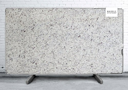 New Bianco Romano Polished Granite Slab Random 1 1/4