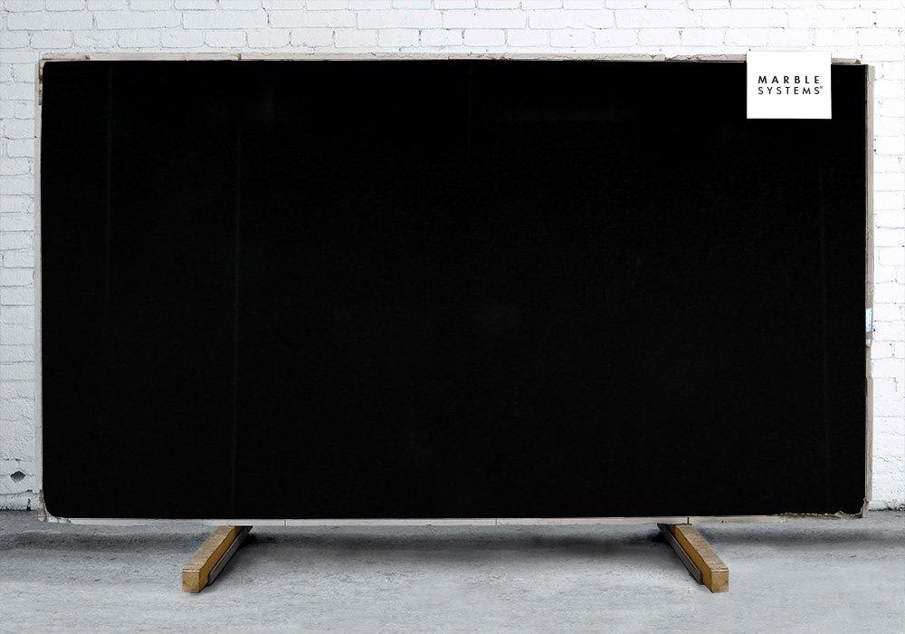 ABSOLUTE BLACK HONED&FILLED GRANITE SLAB SL10552
