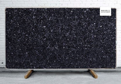 Blue Pearl Polished Granite Slab Random 1 1/4