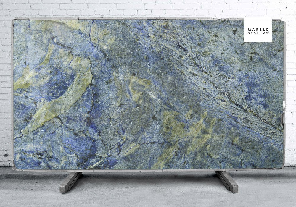 Azul Bahia Polished Granite Slab Random 1 1 4