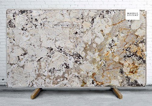 Juparana Delicatus Polished Granite Slab Random 1 1/4