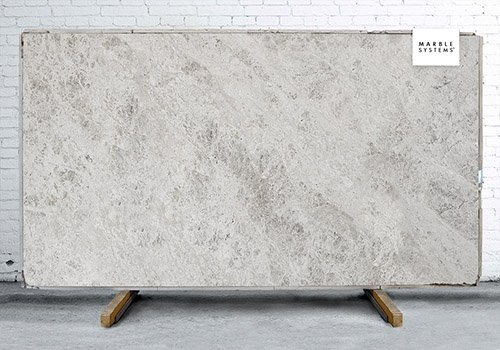 Silver Shadow Polished Marble Slab Random 3/4