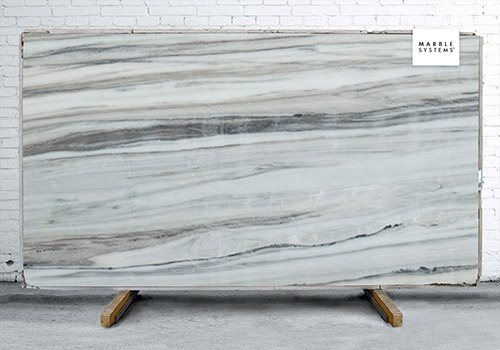 Skyline Polished Marble Slab Random 1 1/4