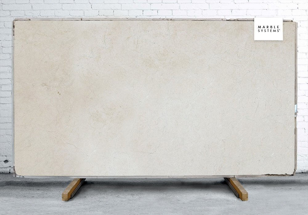 Marfil Honed Marble Slab Random 3/4