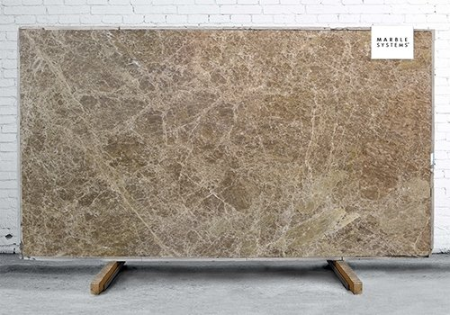 Emperador Scuro Polished Marble Slab Random 3/4