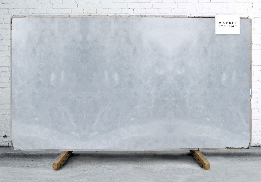 Afyon Grey Polished Marble Slab Random 3/4