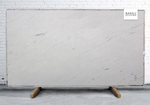 Bianco Sivec Polished Marble Slab Random 1 1/4