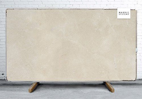 Desert Cream Light Honed Marble Slab Random 3/4