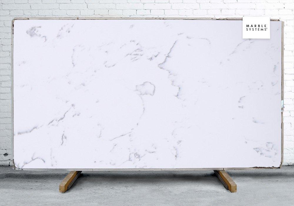 Venatino polished quartz slab random 1 1 4 for Quartz slab size