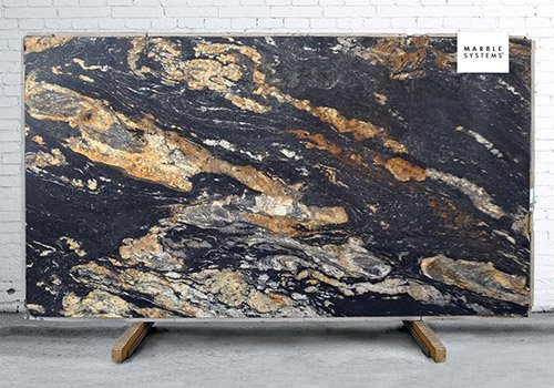 Magma Gold Polished Granite Slab Random 1 1/4