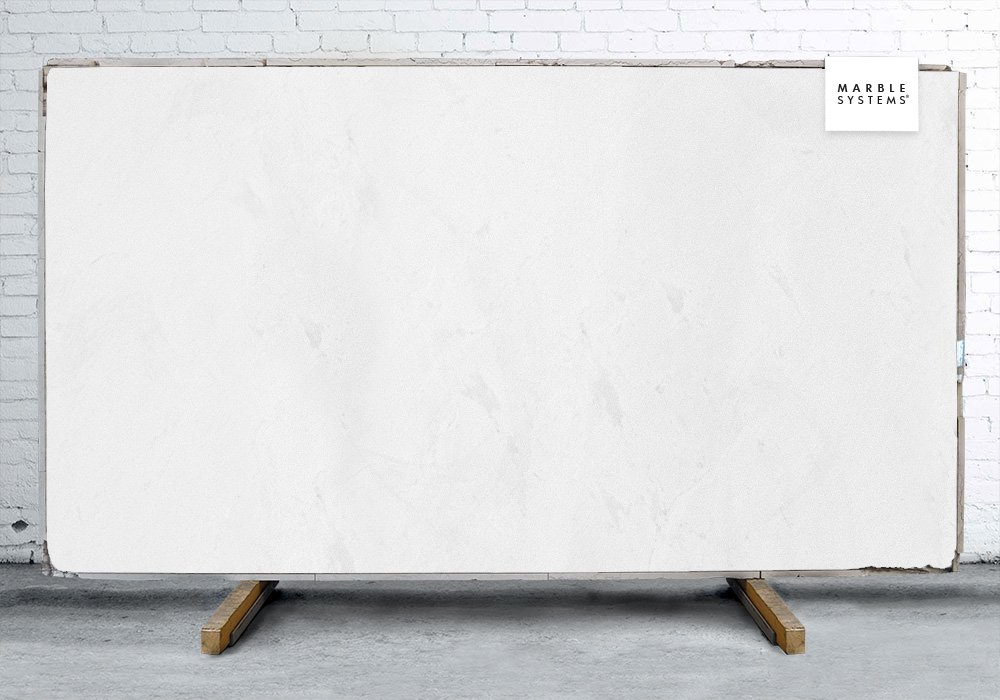 Thassos White Polished Marble Slab Random 1 1/4