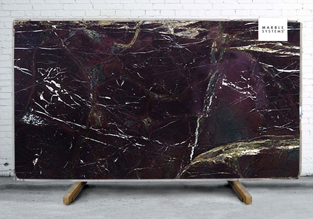 OCEAN RED POLISHED QUARTZITE SLAB SL90168