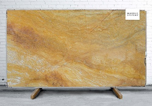 Golden Macaubas Polished Granite Slab Random 1 1/4