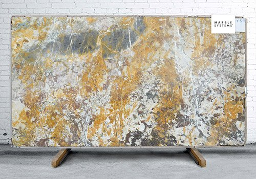 Breche De Vendome Polished Marble Slab Random 3/4