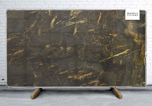 Lotus Polished Granite Slab Random 1 1/4