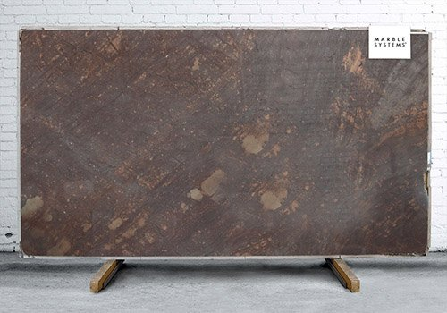 Brown Chocolate Antiqued Granite Slab Random 1 1/4