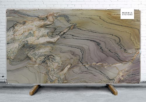 Aquarella Macauba Polished Quartzite Slab Random 1 1/4