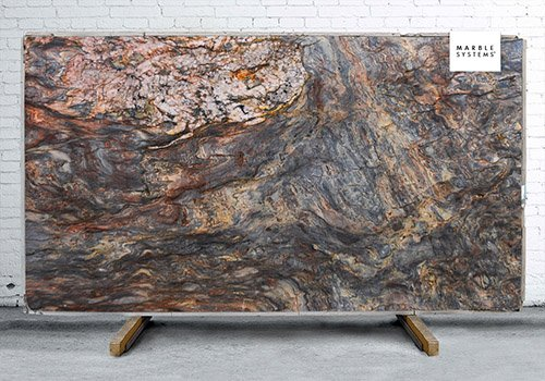 Fusion Polished Granite Slab Random 1 1/4