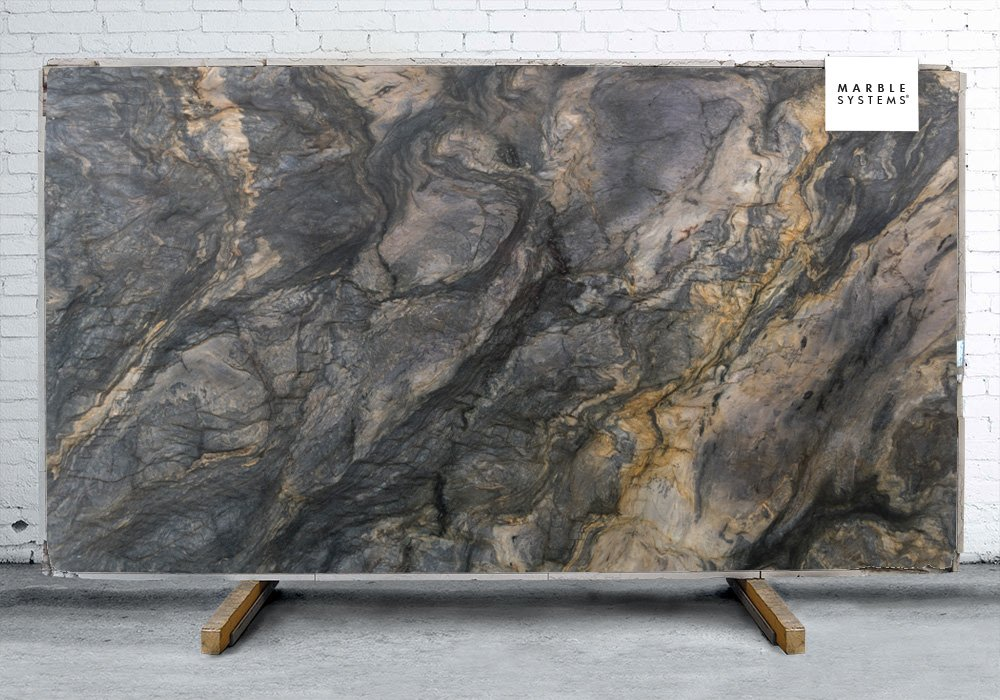 Fusion Polished Granite Slab Random 1 1 4 Marble System Inc
