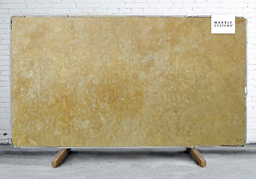Inca Gold Leather Leather Marble Slab Random 1 1/4