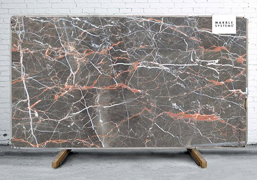 Saint Laurent Polished Marble Slab Random 1 1/4
