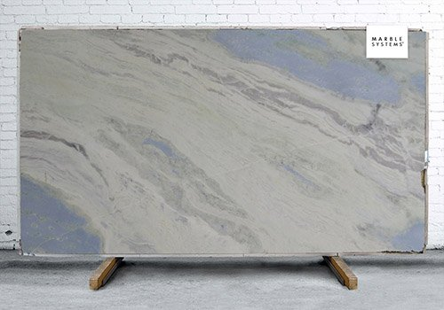 Cielo Blue Polished Marble Slab Random 1 1/4