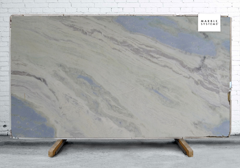 CIELO BLUE POLISHED MARBLE SLAB SL90384-61309