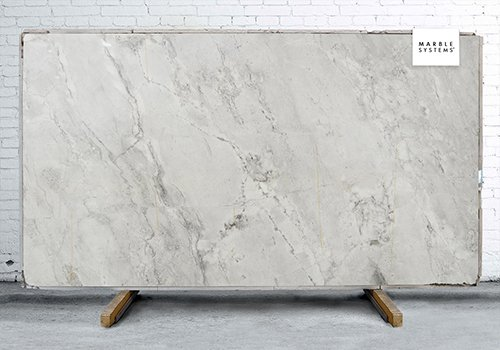Monte Blanc Polished Quartzite Slab Random 1 1/4