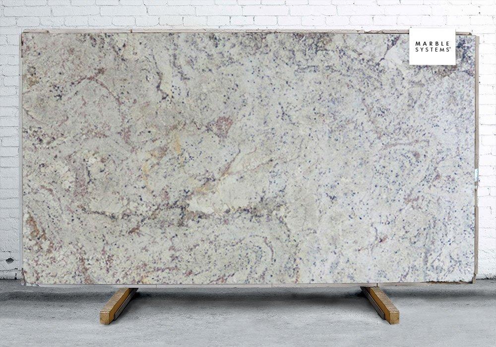Bianco Fiore Antiqued Granite Slab Random 1 1 4