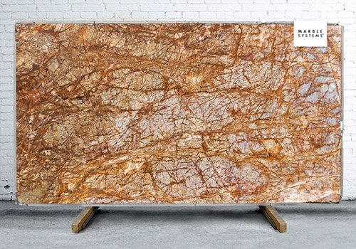 Sensation Polished Granite Slab Random 1 1/4