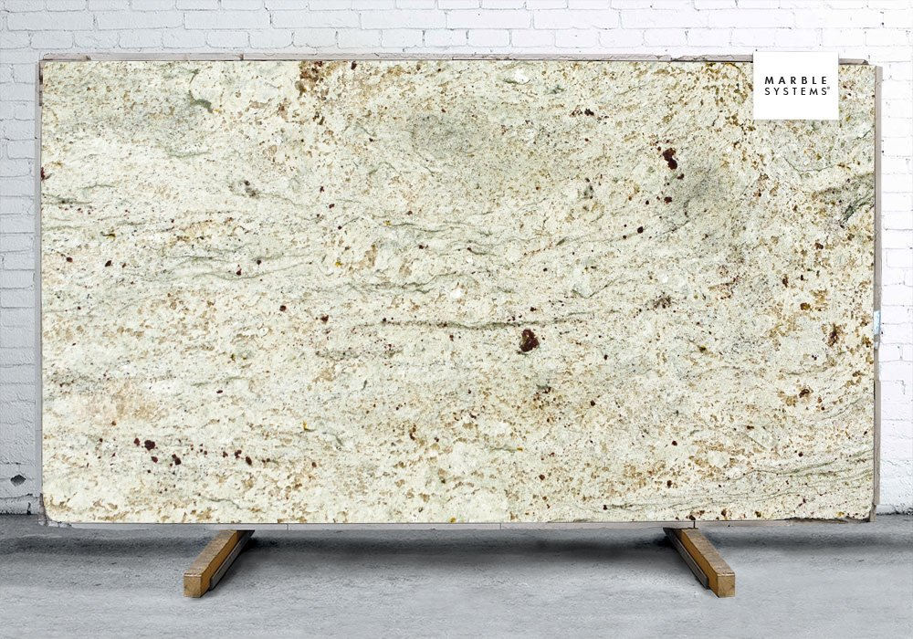 River White Polished Granite Slab Random 1 1/4