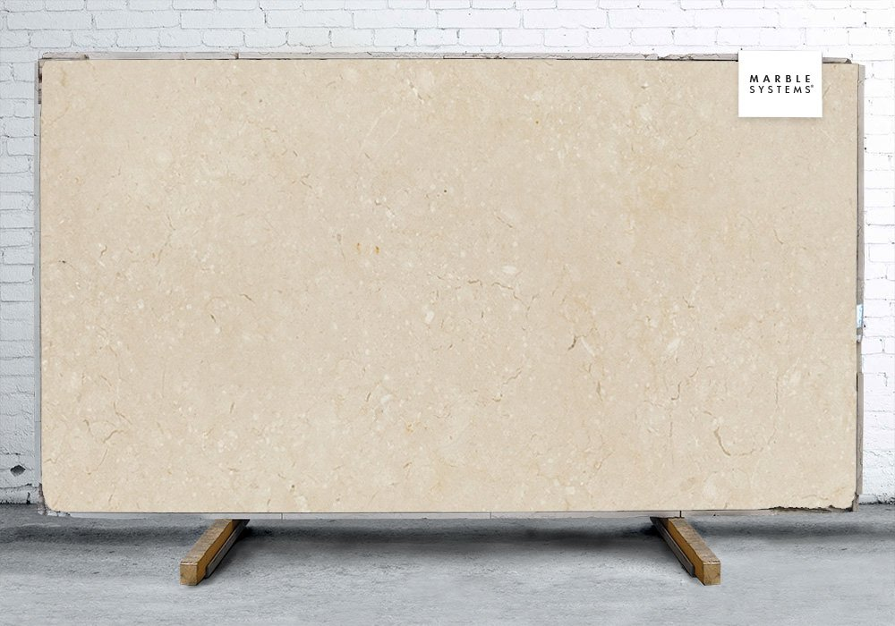 Alexander Cream Honed Limestone Slab Random 1 1/4