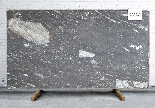 Titanium Polished Granite Slab Random 1 1/4