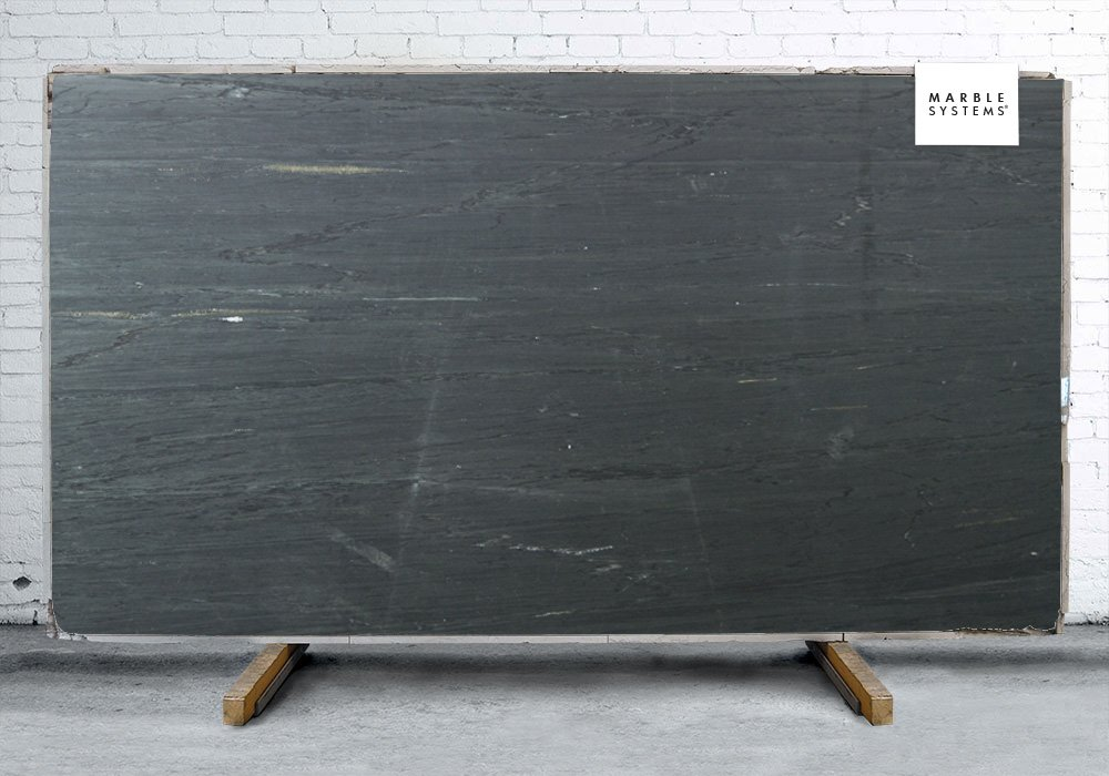 BLACK HONED SOAPSTONE# SLAB SL90497-79293