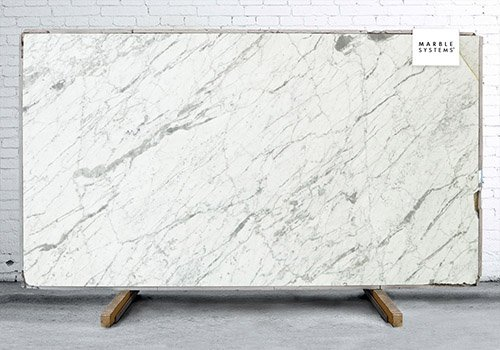 Statuarietto Honed&filled Marble Slab Random 1 1/4